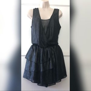 Banana Republic black shimmer dress